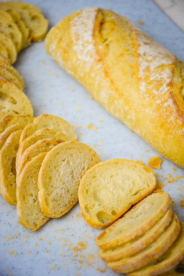 Buttery Garlic Bread Chips - Grumpy's Honeybunch
