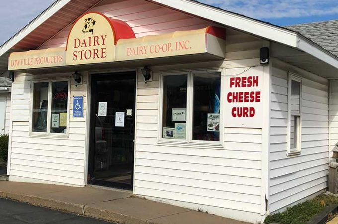Store Front - Lowville Cheese Store