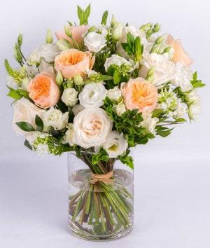 Floral arrangement by Albany florist Ode a la Rose