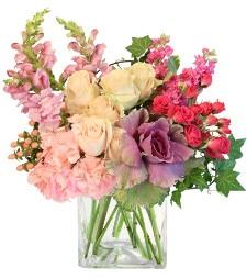 Floral arrangement by Albany florist Enchanted Florist