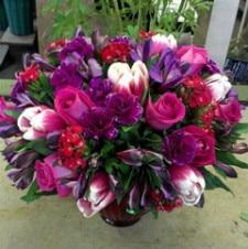 Floral arrangement by Albany florist Lark St. Flower Market