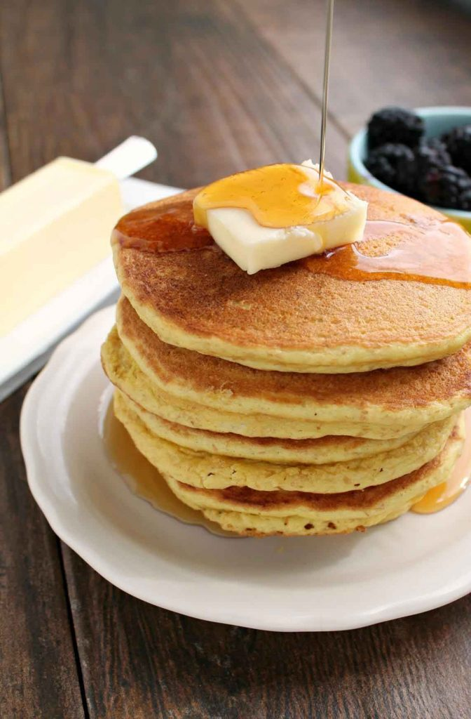 Keto Pancakes photo from Keto Breads eBook