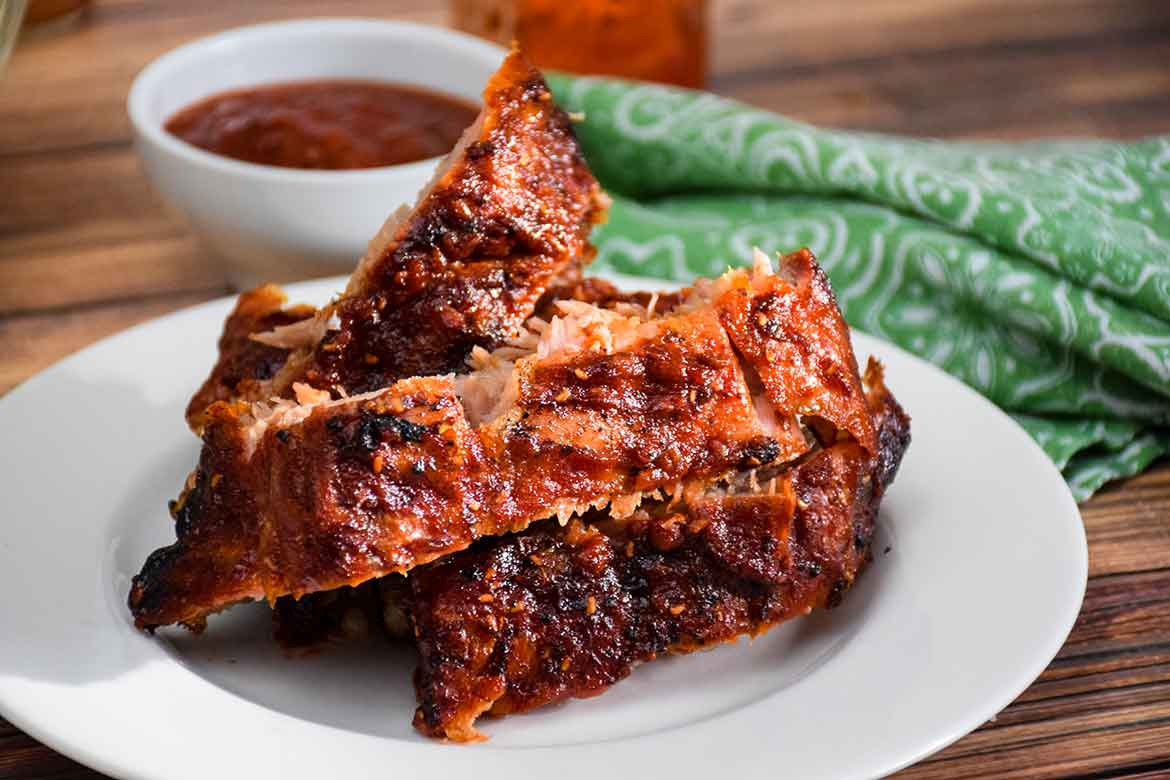 Raspberry Chipotle Sauce for Pork Back Ribs featured image