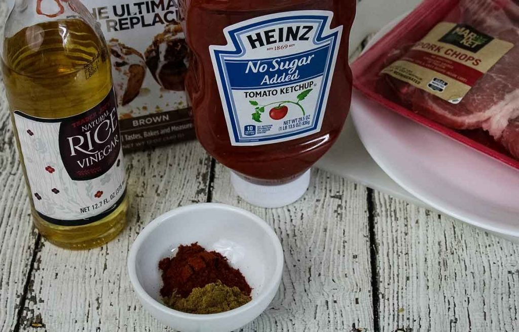 Ingredients for the chipotle sauce
