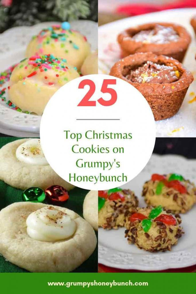 25 top Christmas Cookie Recipes on Grumpy's Honeybunch