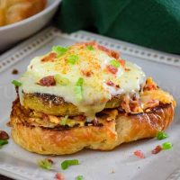 Fried Green Tomato Eggs Benedict