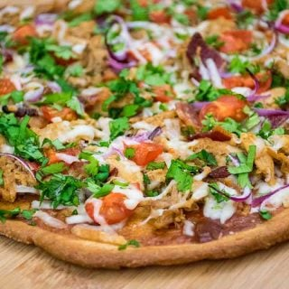 Featured Image for Pulled Pork Pizza with Keto Crust