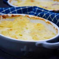 Featured Image for Scalloped Potatoes for Two with Leftover Ham