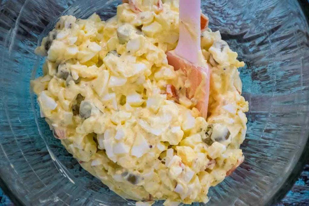 Egg Salad Recipe Green Olives