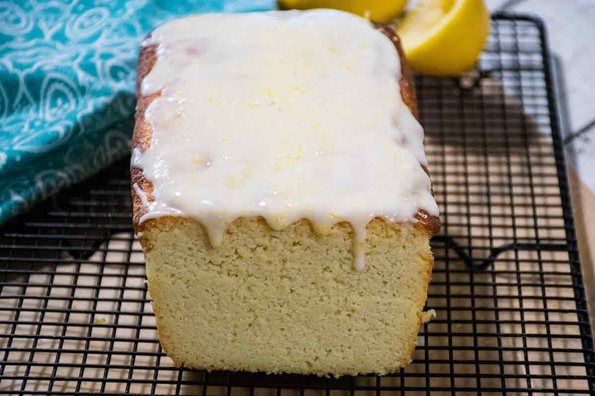 Keto Lemon Pound Cake Featured Image