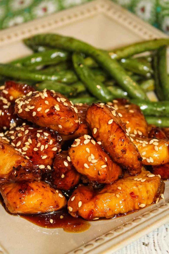Honey Sesame Chicken Better Than Takeout Grumpy S Honeybunch