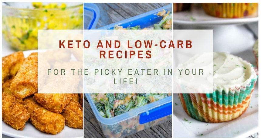 Keto Low Carb Recipe Facebook Banner