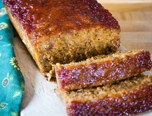 Vegetarian Meatloaf -Easy and Delicious