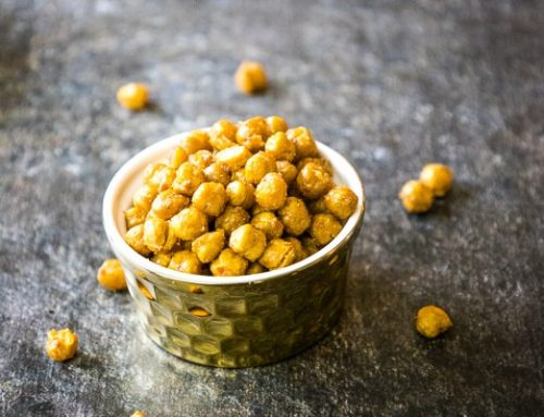 Oven Roasted Chickpeas with Umami Seasoning