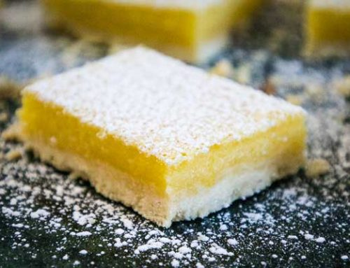 Easy Lemon Bars with Shortbread Crust