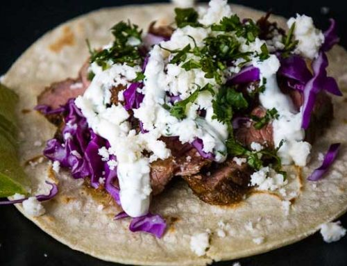 Mexican Street Tacos | With Flank Steak