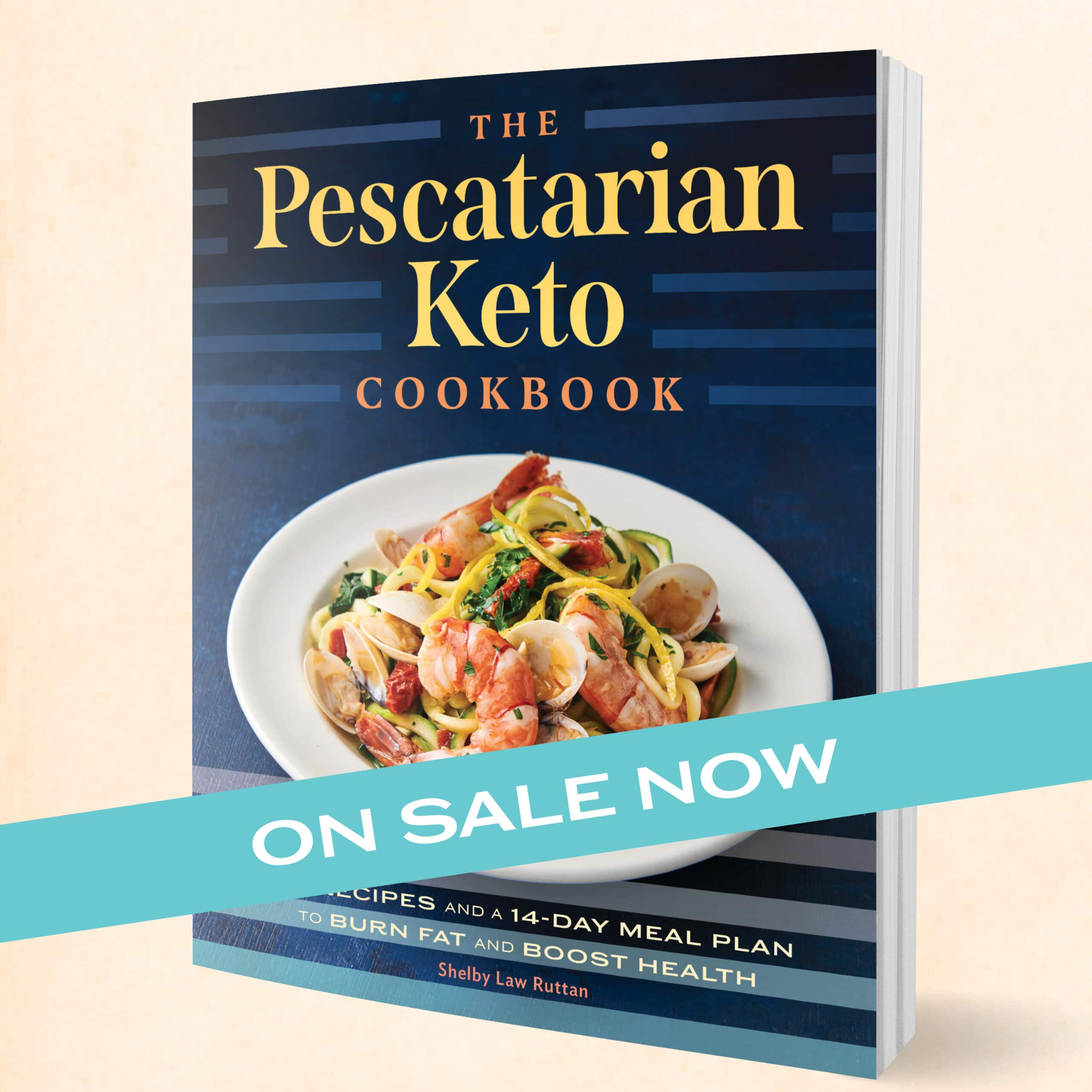 Pescatarian Cookbook Preorder Now Image